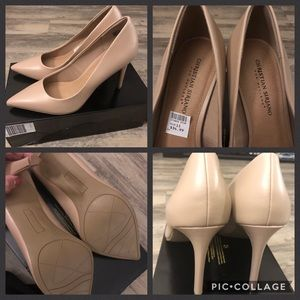 NWT - Christian Siriano Pumps - Size 11, Nude 👠